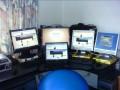 My office PCs setup